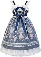 2 STÜCKE Kawaii Sweet jsk Lolita Sling Dress