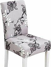 2 Stücke Neuer Entwurfs-Druck-Stuhl-Sätze elastische Stuhl-Abdeckungen