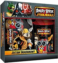 2 teiliges Angry Birds Set Star Wars Brotdose und