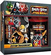 2 teiliges Angry Birds Set Star Wars Brotdose und