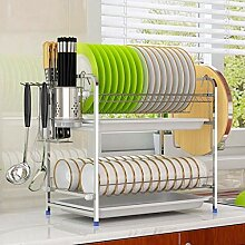 2-Tier Dish Rack Dish Drainers Küche liefert