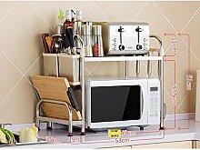 2-Tier-Küche Regal Lagerung, Einheit Rack Hängen