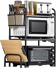 2 Tier Küchenregal Mikrowelle Stand