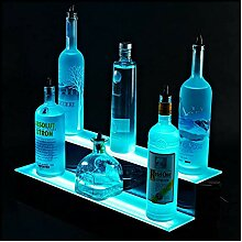 2 Tier LED Flasche Ausstellungsstand,Bunt