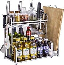 2-Tier Seasoning Shelf Küchenregal Counter