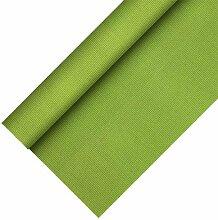 2 Tischdecken Vlies 25 x 1,18 m olivgrün auf