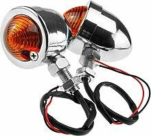 2 Tlg 12V Motorrad Lichter Roller Lampe