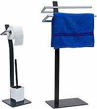 2 tlg Badezimmer Set GRAO, WC Garnitur