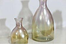 2-tlg. Dekoratives Flaschen-Set Tashia Happy Larry
