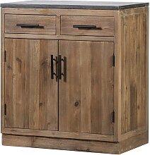 2 türiger Küchenunterschrank mit zwei Schubladen