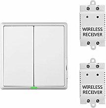 2-Wege Küche Keller Wireless Lichtschalter mit