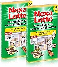 2 x 2 (4 Stk.) Nexa Lotte Schrankfalle für