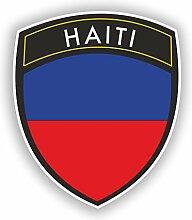 2x 20cm/Verlaufsfilter Haiti Flagge Design