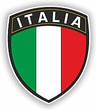 2x 20cm/Verlaufsfilter Italia Flagge Design