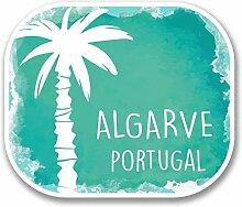 2 x 25cm/250mm Algarve Portugal Fenster kleben