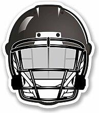 2 x 25cm/250mm American Football NFL Helm Fenster kleben Aufkleber Auto Van Wohnmobil Glas #4480