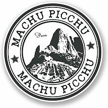 2 x 30cm/300mm Machu Picchu Peru Fenster kleben Aufkleber Auto Van Wohnmobil Glas #5960
