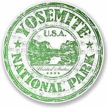 2 x 30cm/300mm Yosemite National Park USA Vinyl