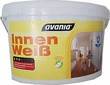 2 X 5 l Avania Wandfarbe Innen Weiß Matt 10 Liter