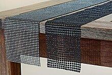 2 x edles Tischband Stone Tischläufer 120cm Tischdeko Dekoration Geburtstag