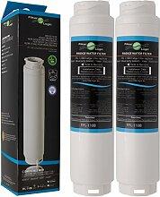 2 x FilterLogic FFL-110B Wasserfilter ersetzen UltraClarity 00740560 , 740560 / 644845 Filter für BOSCH SIEMENS NEFF GAGGENAU MIELE HAIER Kühlschränke - Ultra Clarity 9000733786 , VIB-Z4500W0