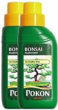 2 x Flaschen Liquid Bonsai-Baum Futtermitteln für