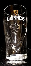 2 x Guinness Relief Glas. Inhalt: 0,5L.