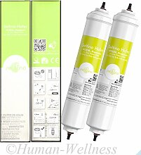 2 x Hafex kompatibel Samsung DA29-10105J Wasserfilter UV-Steril NEU