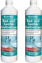 2 x HOTREGA Bad und Sanitär-Kraftreiniger 1000ml