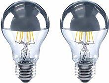2 x LED Leuchtmittel E27-5Watt 580Lumen A60 Birne