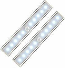 2 x LED Schrankbeleuchtung,Bewegungsmelder Licht