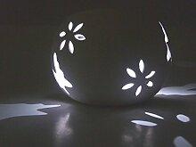 2 x LED-Solar-Windlicht Solar-Gartenleuchte