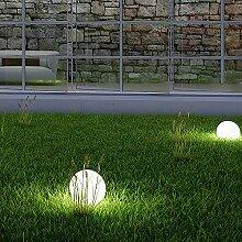2 x LED Solarkugel Marla Solarleuchte Gartenkugel