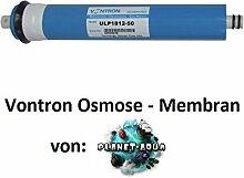 2 x Membran 100 GPD bis zu 380 L / Tagesl. für Osmoseanlage Wasserfilter Umkehrosmose Osmose Filter Membrane gegen Kalk, Salze Entsalzung Nitrat Bakterien Viren Keime Aquarium Wasser