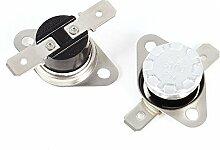 2x NC Thermostat Temperatur-Schalter KSD301100C AC 250V/10A