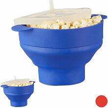 2 x Popcorn Maker Silikon für Mikrowelle,
