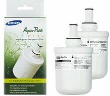 2x Samsung Ersatz-Kühlschrank-Wasserfilter für Samsung RSG5UCRS interne Kühlschrank Filter