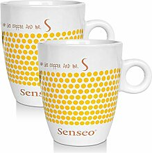 2 x Senseo Design Fussball EM Sonderedition gelb