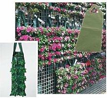 2x starke Aufhängen Übertopf Grow Tasche/Beutel/Ideal für wachsende Tomaten/Kräuter/Blumen/Erdbeeren