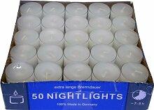 2 X Teelicht Nightlights 50er Box transparente