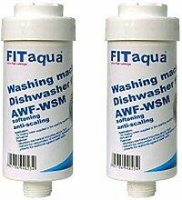 2 x Waschmaschinenfilter Kalkfilter Spülmaschinenfilter Wasserfilter Fitaqua