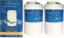 2 x Wasserfilter für GE Smartwater Kühlschrankfilter
