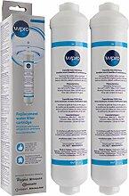 2 x Wpro USC100 universal Kühlschrankfilter für: