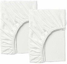 2 XIKEA LEN Spannlaken für ausziehbares Bett in