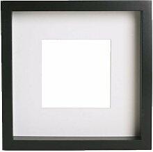 2 XIKEA RIBBA Rahmen in schwarz; (23x23x4,5cm)