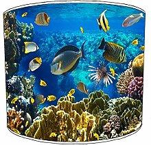 20,3cm Deckenleuchte Marine Aquarium Fisch lampshades5, 30,5 cm