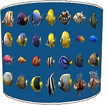 20,3cm Deckenleuchte Marine Aquarium Fisch lampshades6, 20 cm