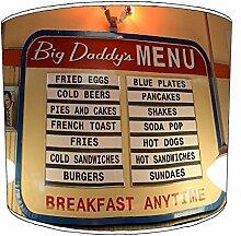 20,3cm Tisch American Diner Drive durch lampshades26, 38