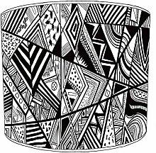 20,3cm Tisch Azteken Muster lampshades6, 30,5 cm
