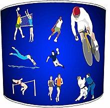 20,3cm Tisch Leichtathletik Kinder lampshades7, 38